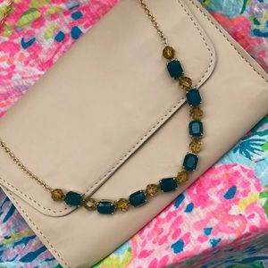 Kate Spade blue and green necklace